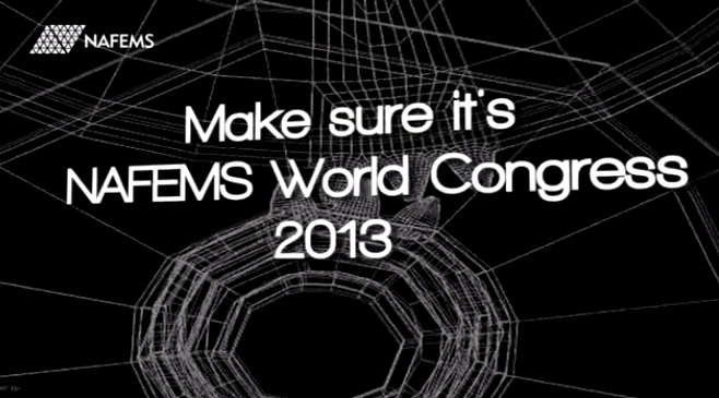CADE is attending to NAFEMS World Congress 2013 in Salzburg (Austria)
