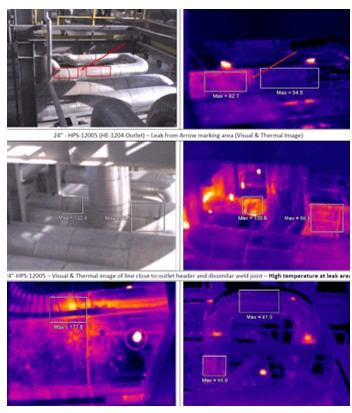 Operating contitions and support systems in dissimilar weld joint failure