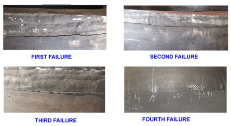 Dissimilar Weld Joint Failures
