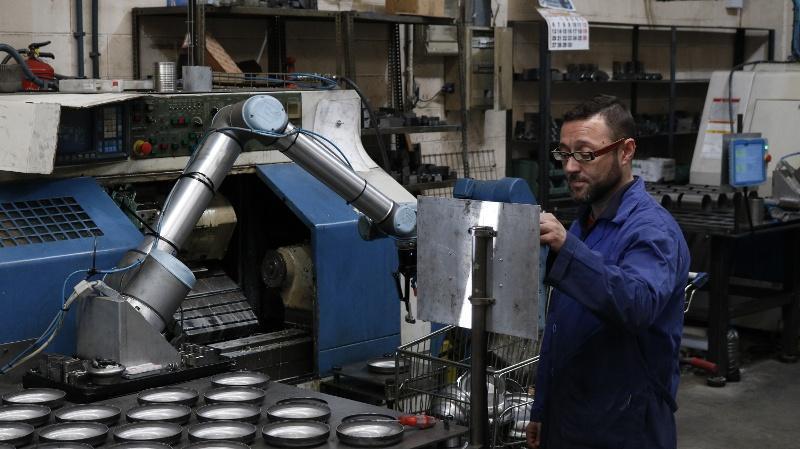 CADE launches CADE COBOTS. Collaborative robotics solutions.