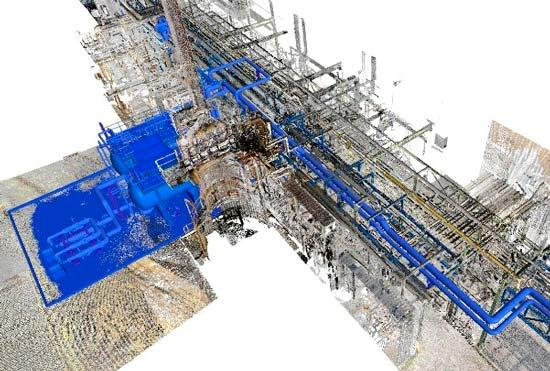Brownfield projects and as built engineering with 3d laser escáner - Ingeniería de proyectos brownfield e ingeniería As-built