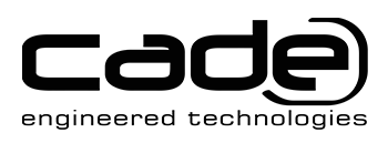 CADE Engineering Contact Form and Telephone