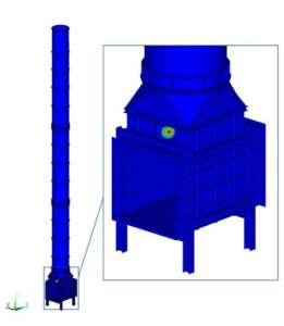 Ingeniería estructural: análisis de chimeneas