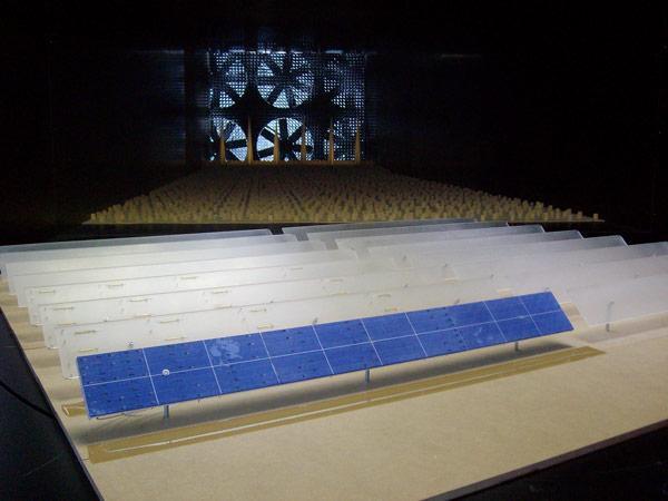 Ingeniería Estructural: Tunel de Viento en estructuras fotovoltaicas
