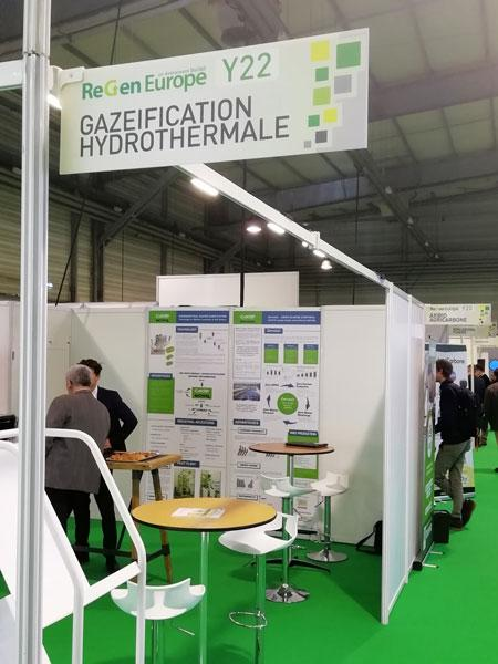 Hydrothermal-gasification-stand-at-ReGen-Europe-2020