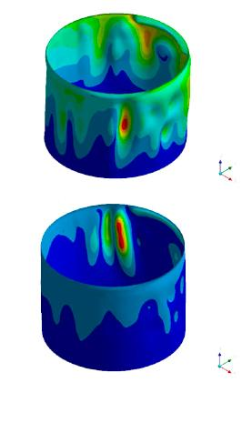 FFS Validation of ovalized shell (envolvente ovalizada)