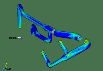 analisis de un sistema de tuberias de gran diametro mediante fea software ansys