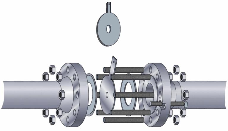 Diseno de sistemas de tuberias con orificios de restriccion
