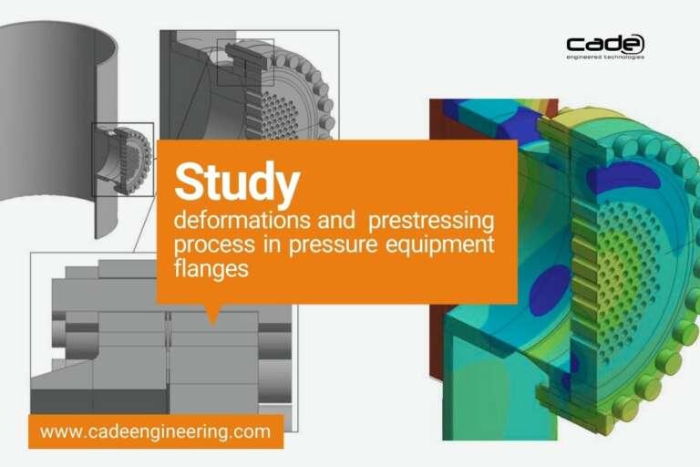 EN Estudio de deformaciones y del proceso de pretensado en bridas de equipos a presion