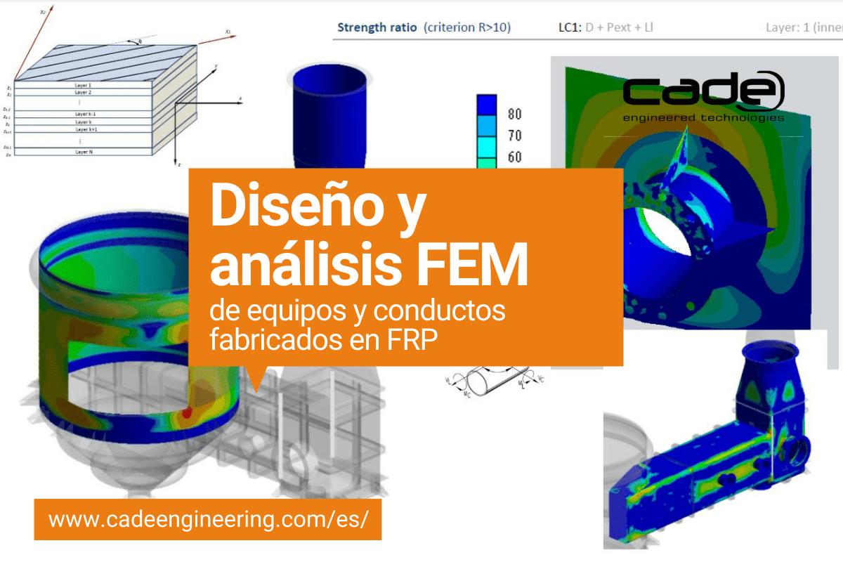Diseño y analisis FEM de equipos y conductos fabricados en FRP