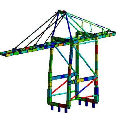 Ingeniería estructural: cranes structures
