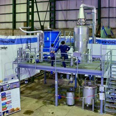 Innospray: demo for effluent treatments (tratamiento de efluentes) ZeroLD